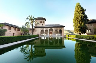 The Alhambra, the finest example of Moorish architecture