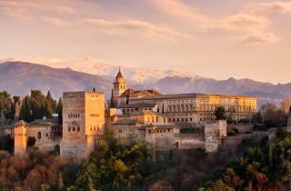 The Alhambra - a palace, a fort, a World Heritage site and a lesson in medieval architecture blended into this breathtaking monument.