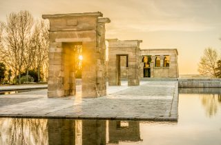 The Temple of Debod - Madrid
