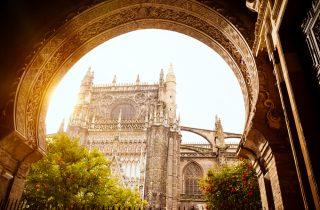 The Cathedral of Saint Mary of the See, better known as Seville Cathedral - Sevilla