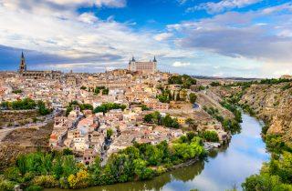 Panoramic view of Toledo