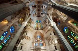 Inside the Sagrada Familia - Barcelona