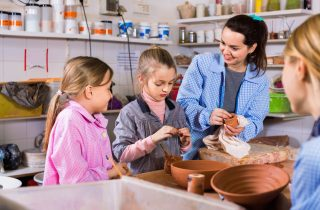 Pottery workshop for parents and children