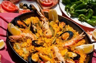 Paella - a dish of humble origin and great taste, it is recognised worldwide as one of the most emblematic of Spanish cuisine
