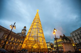 Sol Square - A magical place to visit during Christmas with sparkling lights and markets.