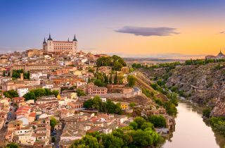 Toledo is one of the Spanish cities with the greatest wealth of monuments and it's less than an hour drive away from Madrid.