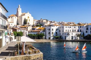 Cadaques, a world away from the unrestrained package-holiday resorts along the coast.