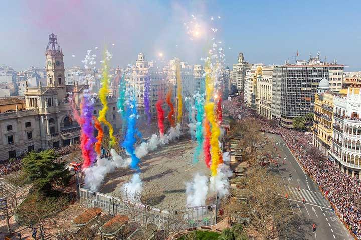 Masleta - Fireworks - Fallas - Valencia